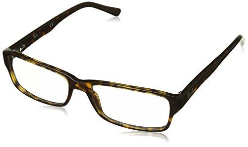 Ray-Ban Men's RX5169 Eyeglasses Dark Havana - 5169 Rayban