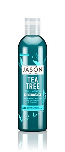 JASON Normalizing Tea Tree Treatment Conditioner, 8 oz. (Pack of 3) (Packaging May Vary)