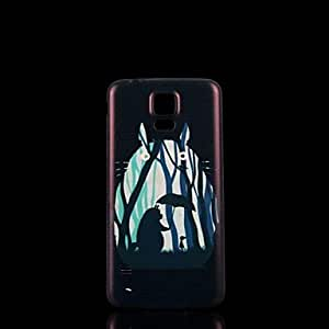 YULIN Samsung S5 I9600 compatible Graphic/Special Design Plastic Back Cover