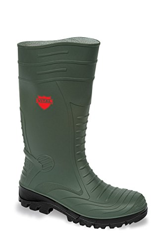 vw249 groundworker pvc wellington boots with steel toe cap and midsole protection kjs9j3d0Q
