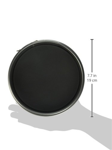 Nordic Ware 51842 Leakproof Springform Pan, 7 Inch, Charcoal by Nordic Ware (Image #1)