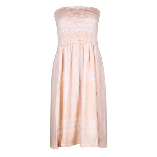 2de1f1923801 Jaminy Boho Weinlese-Blumenstrand-Kleid-Badebekleidungs-Abdeckungs-Ups  Damen Kleid Vintage ...