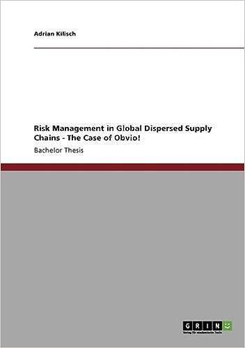 supply chain risk management strategies pdf