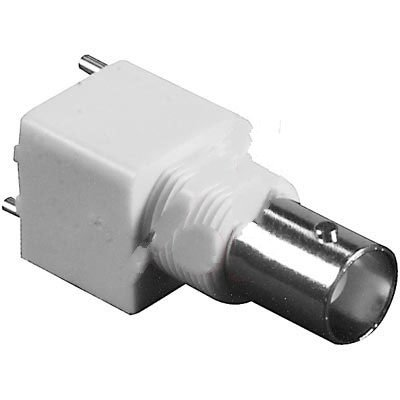 Aim Cambridge-Cinch Connectivity Solutions CPBNCPC007 , connector, rf coaxial, bnc pcb straight bulkhead jack receptacle, isolated, 50 ohm