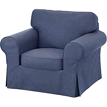 Amazon Com The Heavy Cotton Ektorp Chair Cover