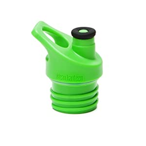 Klean Kanteen Sport Cap 3.0, Leak Resistant Water Bottle Cap with Safe and Soft Silicone Spout