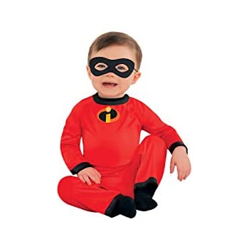 party city the incredibles baby jack jack halloween costume for infants 0 6