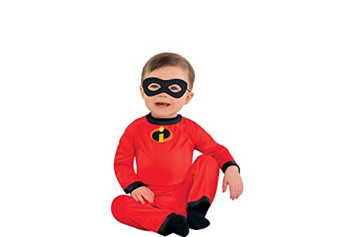 The Incredibles Baby Jack-Jack Halloween Costume for Infants, 0-6 Months, with Included Accessories, by Party City