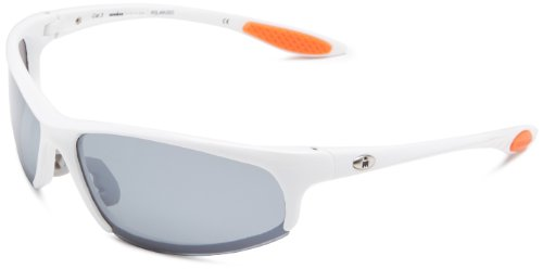 Ironman Strong Semi-Rimless Sunglasses,Shiny White,156 - Glasses Sun Ironman