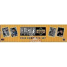 1994 Upper Deck Collector's Choice Baseball Complete Set,...