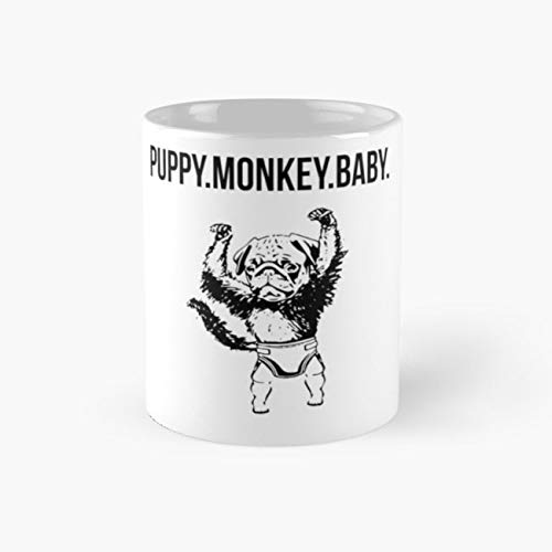 Puppy Monkey Baby 110z Mugs ()