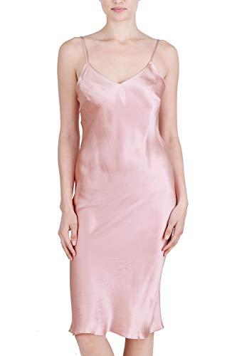Clean Silk Dresses - OSCAR ROSSA Women's Luxury Silk Sleepwear 100% Silk Full Slip Chemise Lingerie Nightgown