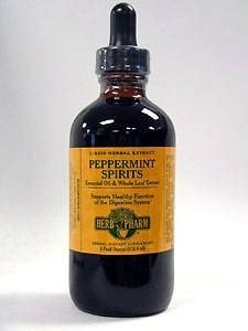 Peppermint Spirits, 4 oz by Herb Pharm (Pack of 2) by Herb Pharm