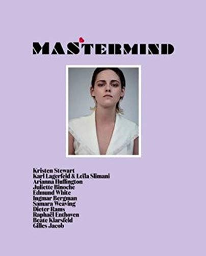 MASTERMIND MAGAZINE 4 Kristen Stewart cover (fall / winter 2018) New copies Exclusively available from Magazines and more ()