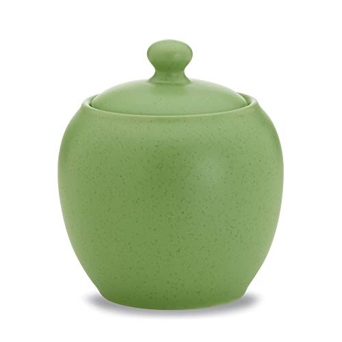Noritake Colorwave Sugar Bowl with Cover, Apple Green -  8094-422