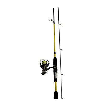 "Reel Combo Crappie Slab Shaker Light Fishing 4/'6/"" Rod Lews SS5046-2 Mr"