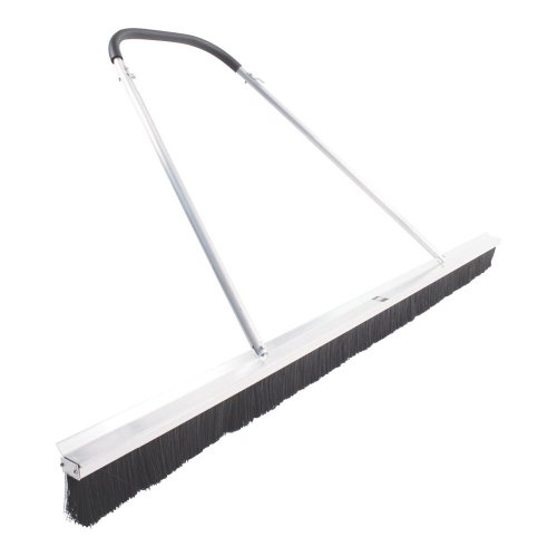 Gamma Deluxe 3 Row Drag Broom, Silver/Black by Gamma
