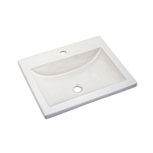 american standard studio drop in sink with center faucet holes amazoncom