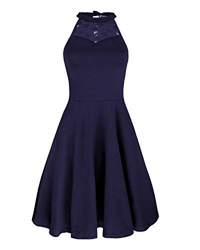 Navy Blue Dress - 7