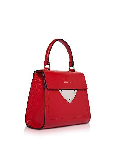 E1c05557701r09 Mujer Cuero Bolso Coccinelle Mano De Rojo 85dZUq