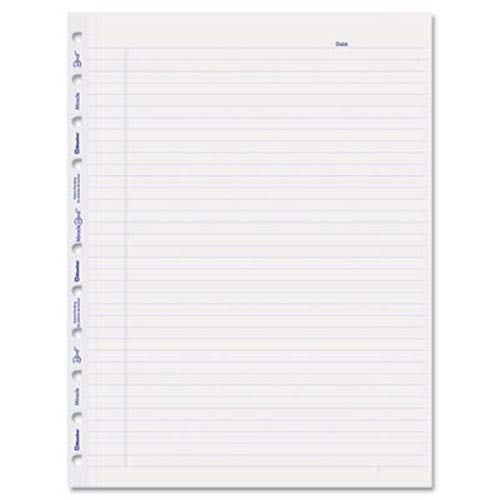 - MiracleBind Notebook Ruled Paper Refill, 11 x 9-1/16, White, 50 Sheets/Pack, Sold as 50 Sheet