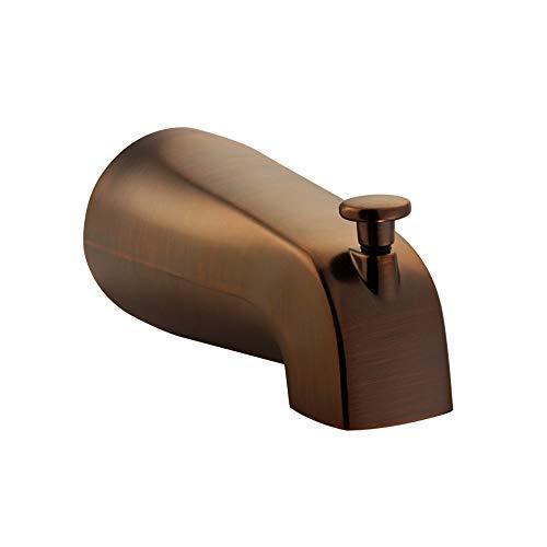 Diverter Npt - PULSE ShowerSpas 3010-TS-ORB Bathtub Spout Valve with Diverter, 1/2