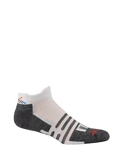 Dahlgren Trainer Socks, White, Large