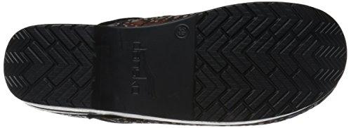 Women's Motif Cabrio Professional Pro Dansko Leather Clog Gouttes 1WHRCqn
