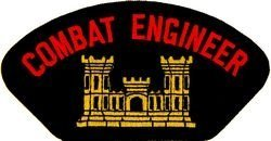 us army combat engineer patch large