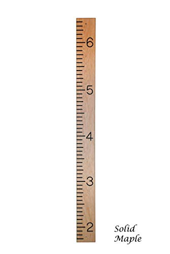 Quality, Solid Hardwood Growth Chart (Walnut, Oak, Maple) by SFW Products (Image #3)