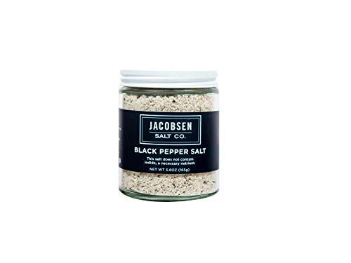 (Jacobsen Salt Co Infused Sea Salt Black Pepper 5 pt. 3 oz)