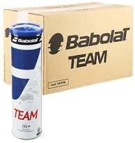 Babolat Team X4- Caja de 18tubos de pelotas de tenis