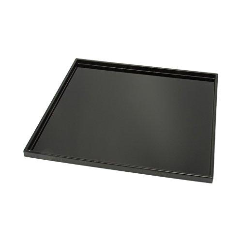 Kotobuki Square Black Lacquer Serving Tray, 11-3/4 ,