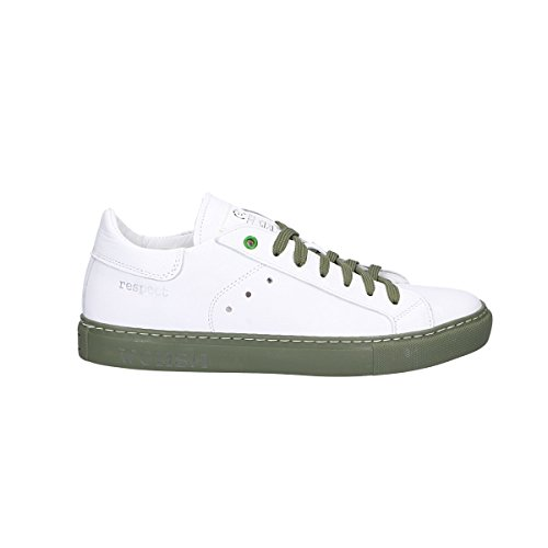 Womsh Sneakers Uomo 140203 Pelle Bianco