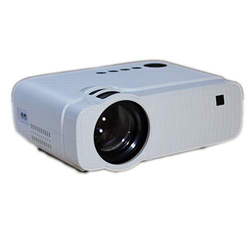 QLPP Film Projector,236 Zoll Projektionsbildschirm in der Größe LCD Home Theater Support 1080P HDMI AV USB GA MicroSD…