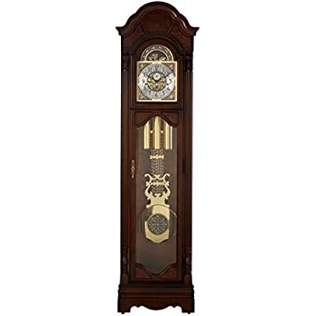 Amazon Com Ridgeway Timeless Accents Clarksburg Curio Grandfather