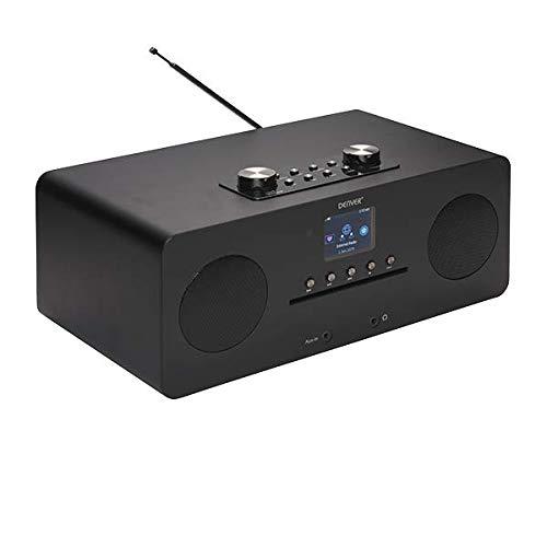 Denver MIR-260Black – Microsysteem met radio en Bluetooth – Zwart