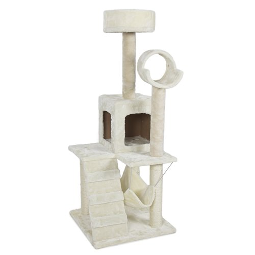 Best-Choice-Products-Deluxe-52-Inch-Cat-Tree-Tower-Condo-Scratcher-Furniture-Kitten-House-Hammock