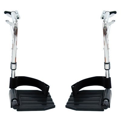 Invacare Wheelchair Replacement Parts - Swingaway Wheelchair Footrest Material: Composite