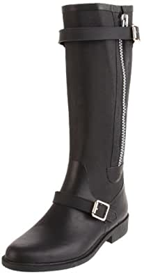 Juicy Couture Women's Emily Tall Boot, Black, 5 M US