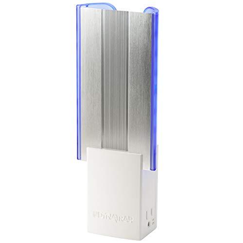 DynaTrap DT3019W Flylight Indoor Insect Trap 2 AC Outlets, AtraktaGlo Light, StickyTech, -