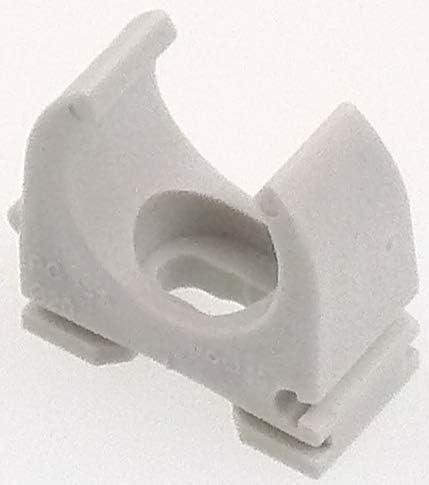 Klemmschellen Rohrschellen Druckschelle Quickschellen Clippschelle f/ür PVC Leerrohr M16 M20 M25 M35 M40 M50 grau