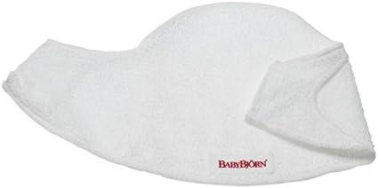 BabyBjörn Pack de 2 Baberos para Mochila Porta Bebé, Blanco