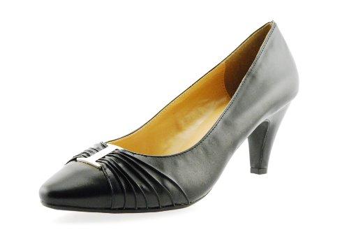Karen Scott Caitr Femmes Pompe Talon Robe Casual Chaussure Noir Synthétique Taille 11