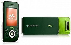 Sony Ericsson W580i Quadband Phone with 2MP Camera (Unlocked) Jungle Green (Sony Ericsson Sprint)