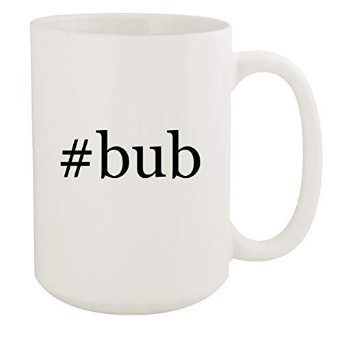 #bub - 15oz Hashtag White Ceramic Coffee Mug