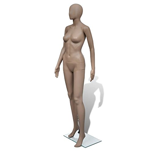 SKB Family Mannequin Woman Round Head Clothing Stand Display by SKB Family