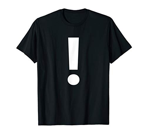 Punctuation ! Exclamation Point Tee Shirt]()