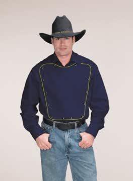 Western Express - Camisa de vestir - Button Down - Manga Larga - para hombre Azul azul marino Medium: Amazon.es: Ropa y accesorios