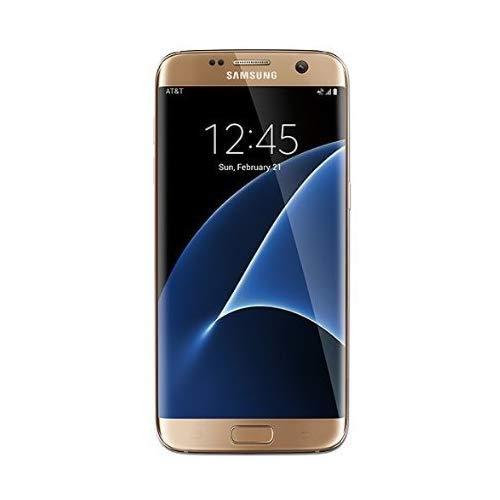 Samsung Galaxy S7 Edge G935A 32GB Gold - Unlocked GSM (Renewed) (Galaxy S3 Unlocked Cell Phones)